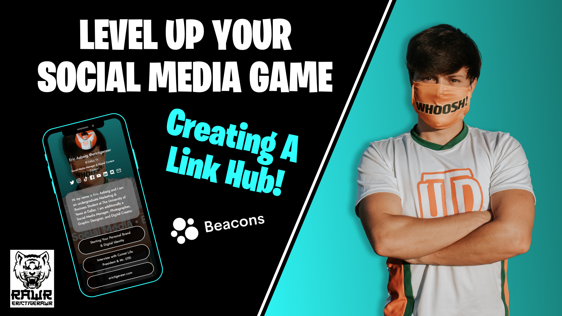 Level Up Your Social Media Game: Creating a Link Hub
