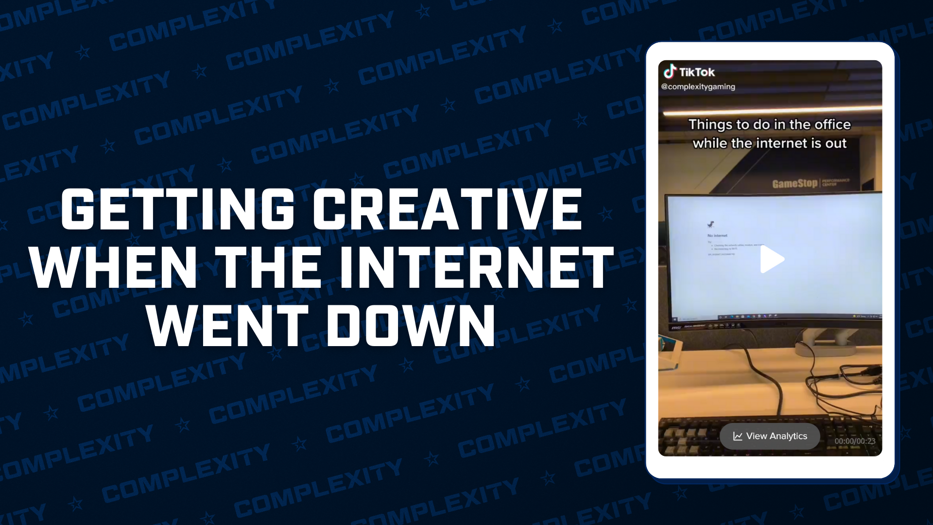 Getting Creative When The Internet Goes Down – Facebook Down 2021